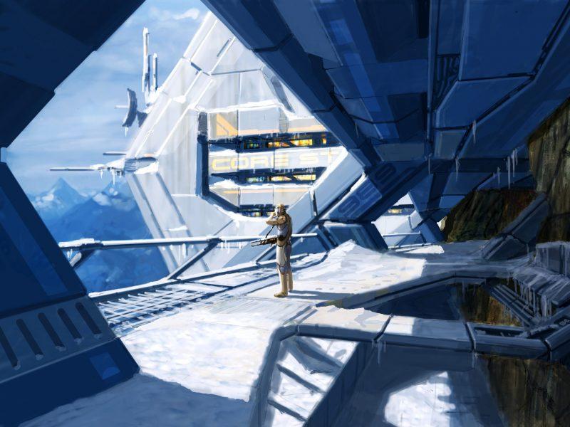 Mass Effect Concept Art Wallpaper