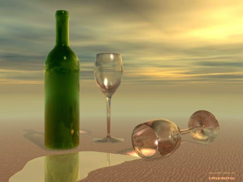 Beach Wine Wallpaper