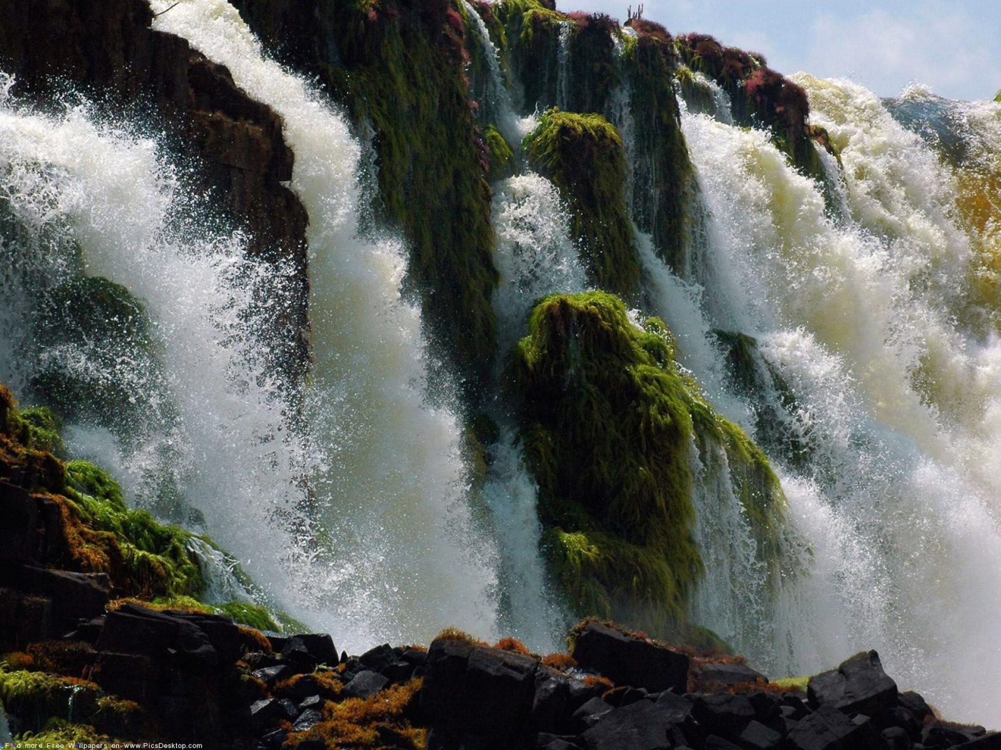 Nature Waterfall Wallpaper Free Hd Downloads
