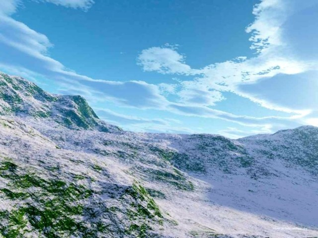 Snowscape Wallpaper