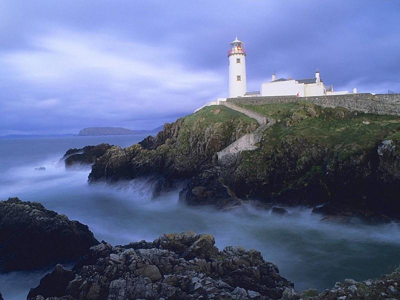 Fanad Head Lighthouse-Ireland Wallpaper