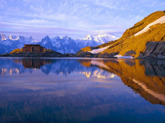 Savoie French Alps HD Wallpaper