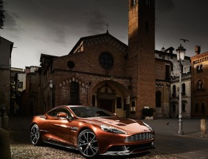2013 Aston Martin Vanquish New Design Wallpaper