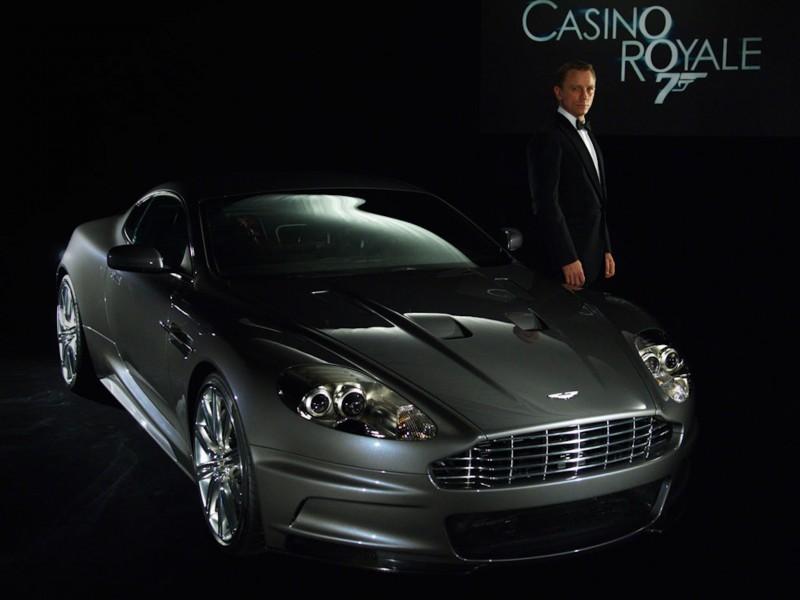 Aston Martin Bond Casino Royale Wallpaper