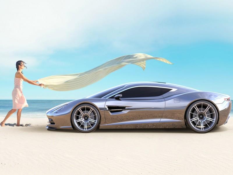 Aston Martin DBC Concept Wallpaper