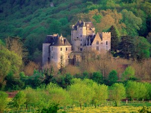 France Fayrac Castle Wallpaper