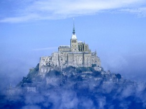 Mont Saint-Michel Island, France Wallpaper