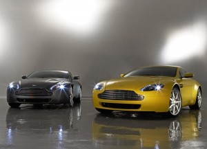 Aston Martin Vantage Performance Wallpaper