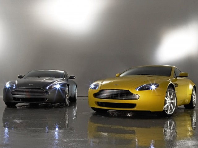 Aston Martin Vantage Performance Wallpaper