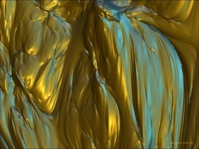 Liquid Gold Wallpaper