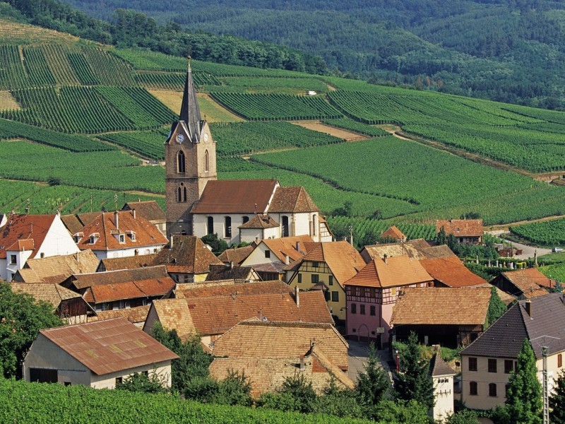 Rodern-Haut Rhin-Alsace-France Wallpaper