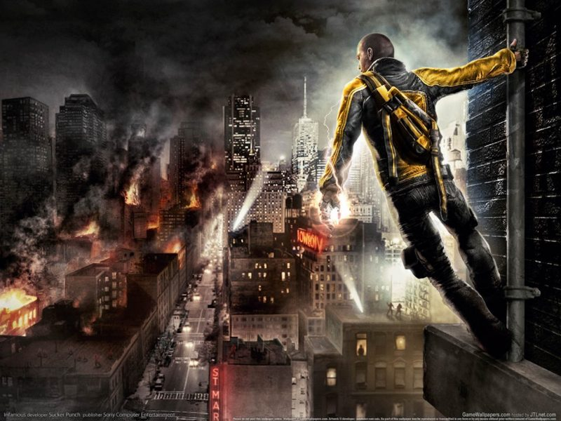 InFAMOUS Video Game Wallpaper