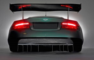 Aston Martin DBR9 Back Wallpaper