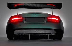Aston Martin DBR9 Back Wallpaper