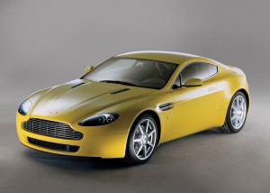Aston Martin Vantage V8 Wallpaper