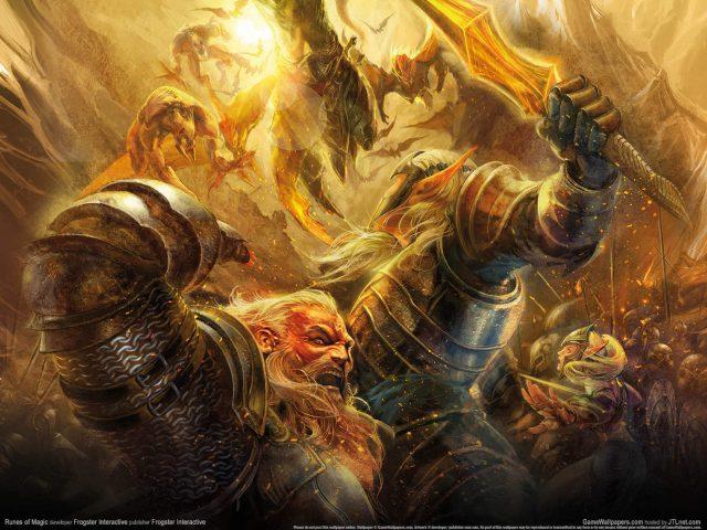Runes Of Magic Game Wallpaper
