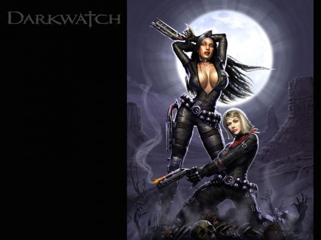 Female Protagonists-Darkwatch Wallpaper