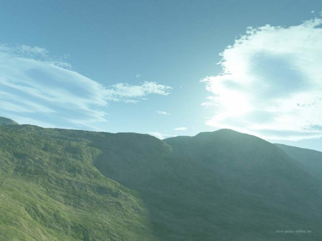 Terrain 3D Wallpaper