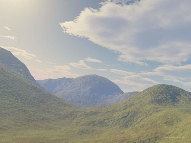 Countryside 3D Wallpaper