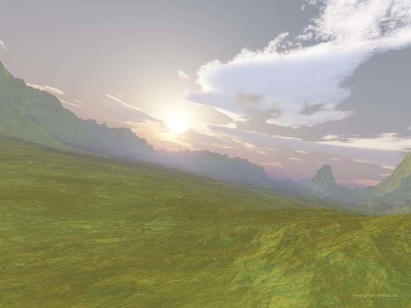 Scenery 3D Wallpaper