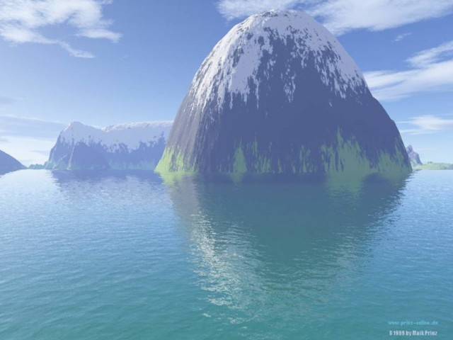 Mountain 3D Wallpaper