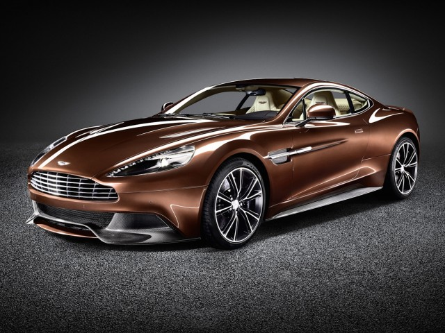 Aston Martin Vanquish New Design Wallpaper