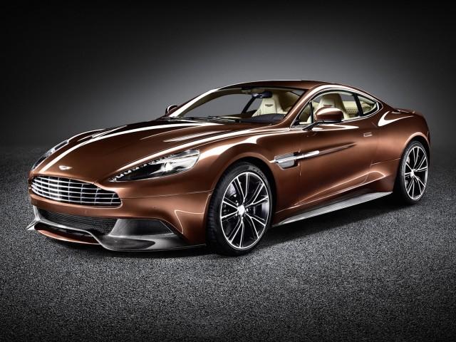 Aston Martin Vanquish New Design Wallpaper