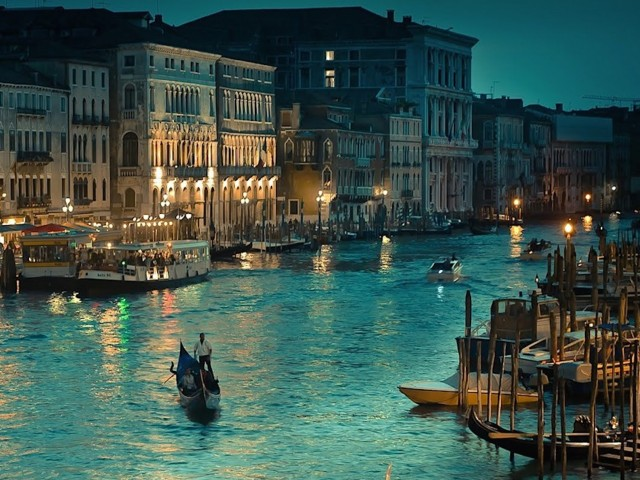 Grand Canal Venice Italy Wallpaper