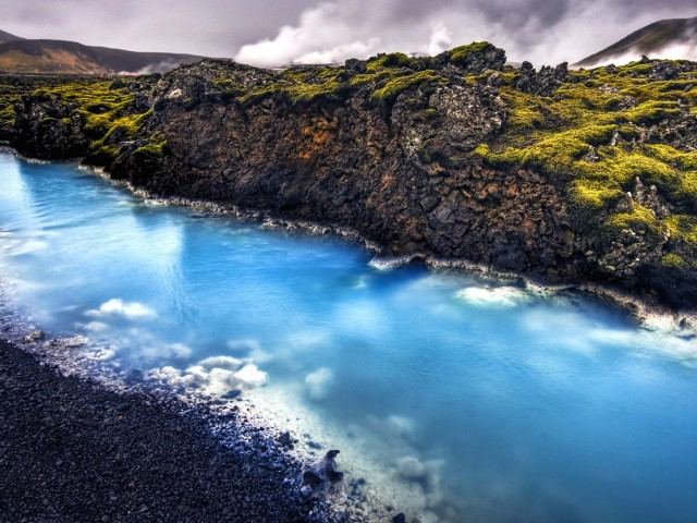 Iceland Blue Lagoon Wallpaper