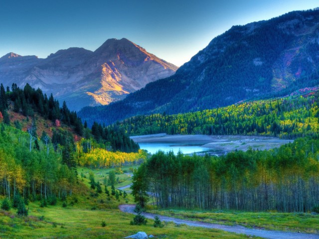 Mount Timpanogos Sunset Wallpaper