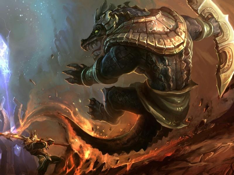 Renekton League Of Legends Wallpaper