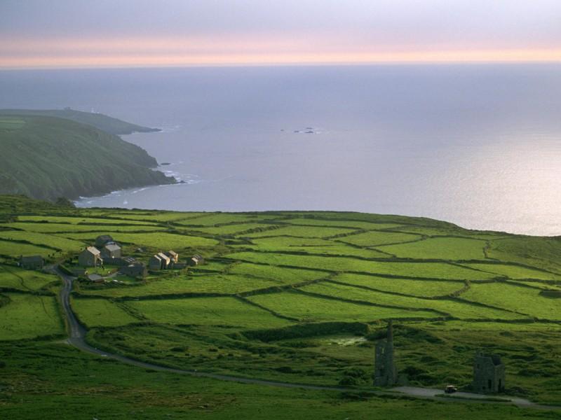 Rosemergy Farm Cornwall England Wallpaper