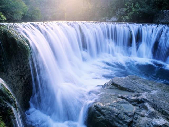 Waterfalls Columbia River Gorge Oregon Wallpaper