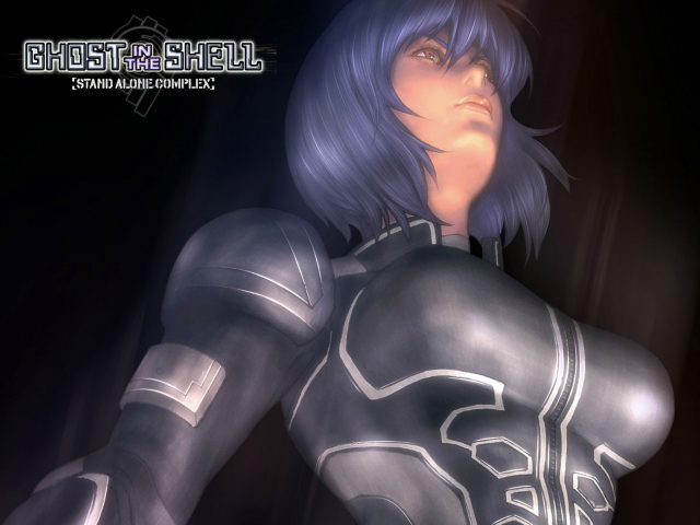 Ghost in the Shell Motoko Kusanagi Wallpaper