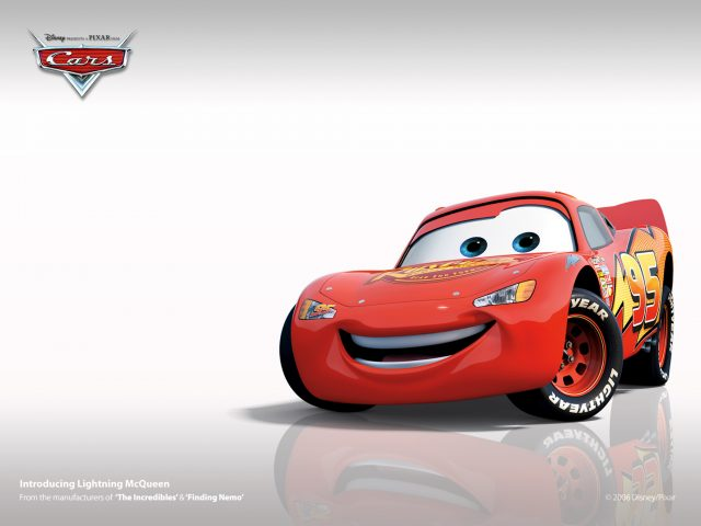 Lightning McQueen-Disney HD Wallpaper