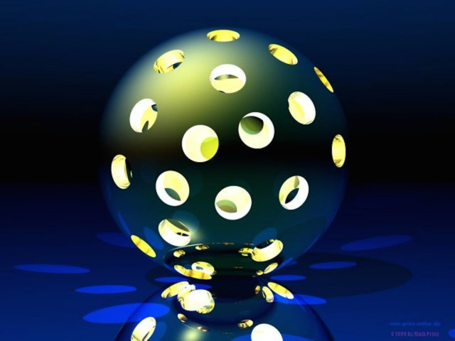 Sphere 3D Wallpaper
