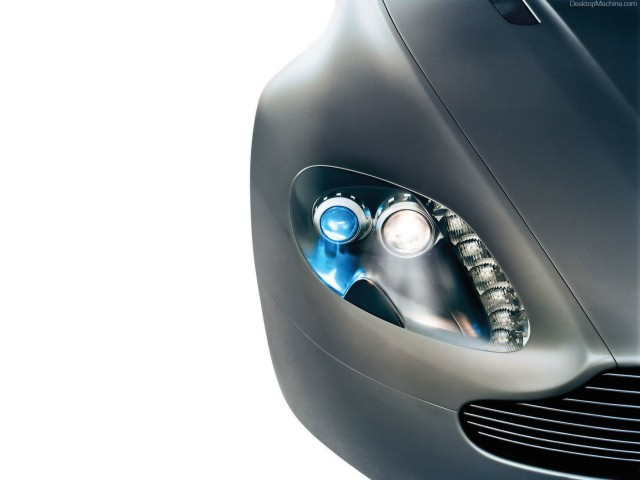 Aston Martin Vantage Headlight Wallpaper