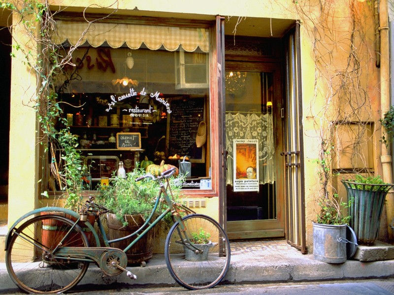 French Storefront