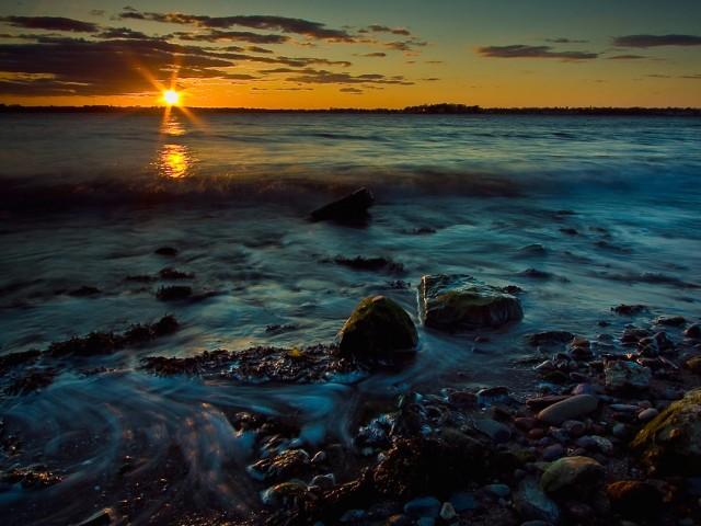 Inspirational Peaceful Sunset Wallpaper