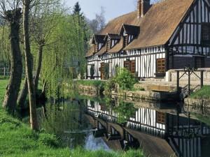 Lyons La Foret, Normandy, France