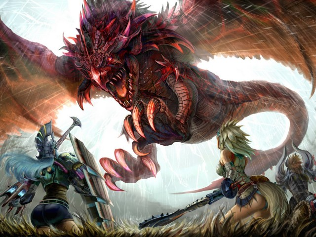 Monster Hunter 3 Ultimate Rathalos Wallpaper
