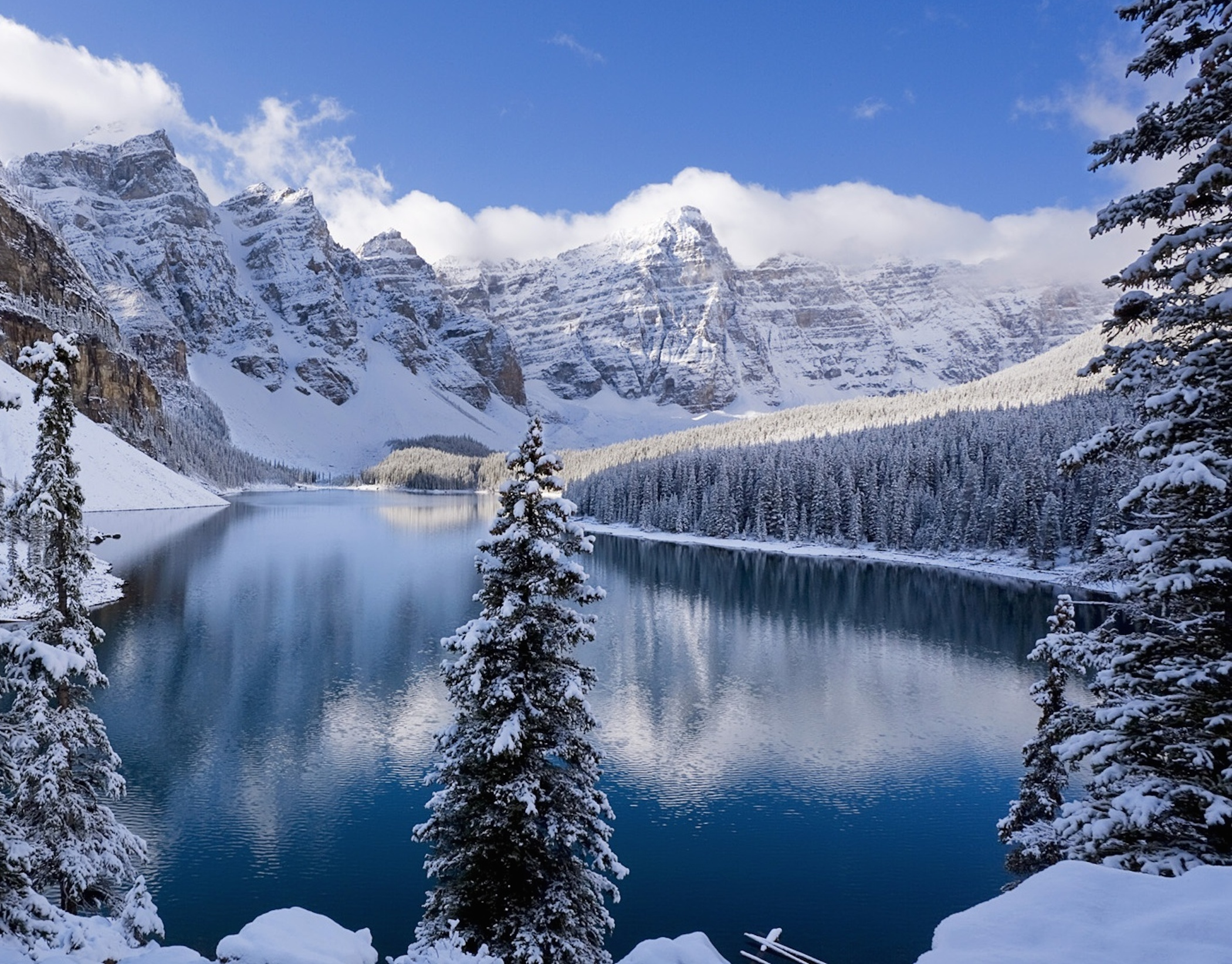Snow Covered Mountains Wallpaper - Free Downloads
