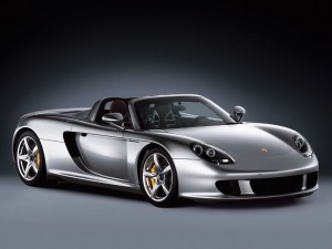 Porsche Carrera GT Supercar Wallpaper