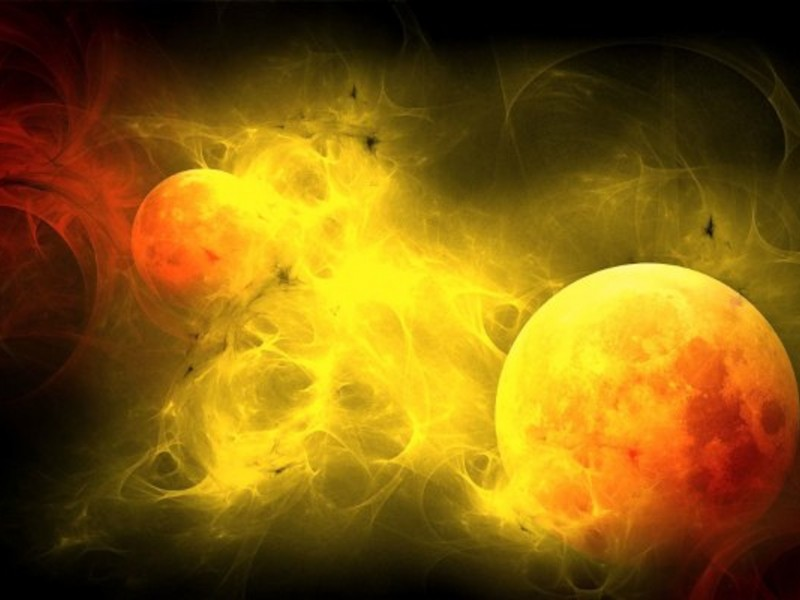 3d Sun Blast Wallpaper Free Space Downloads