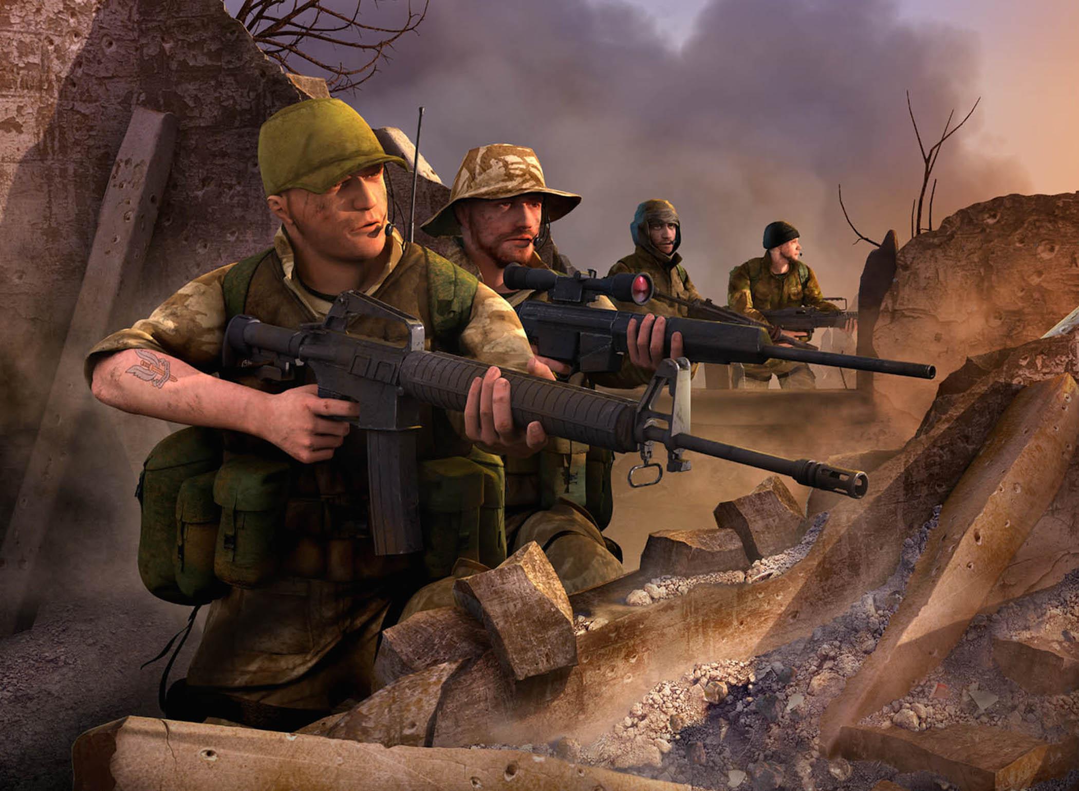 conflict desert storm 2 wallpaper free hd downloads