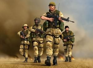 Conflict Dessert Storm 2 Baghdad Wallpaper