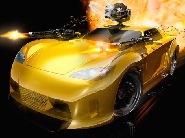 Full Auto Video Game Wallpaper