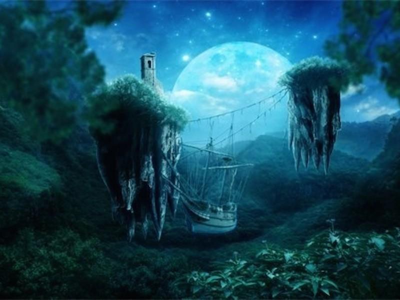 Landscape Twilight Wallpaper