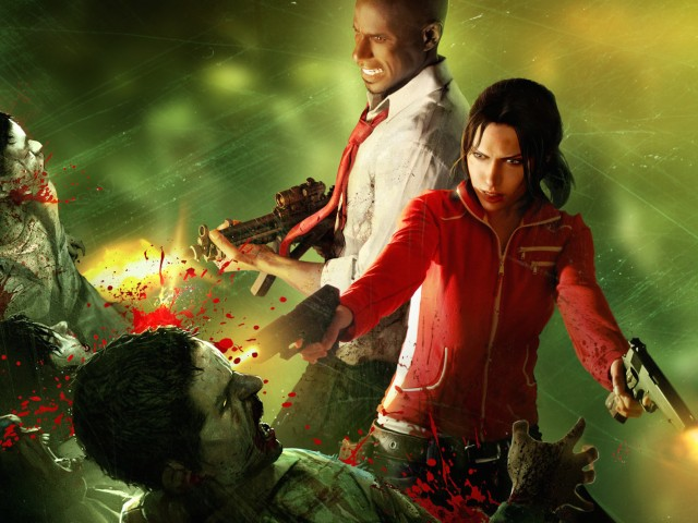 Left 4 Dead Zoey-Louis Wallpaper