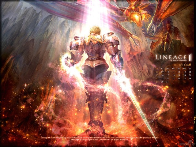 Lineage ll The Chaotic Chronicle Wallpaper